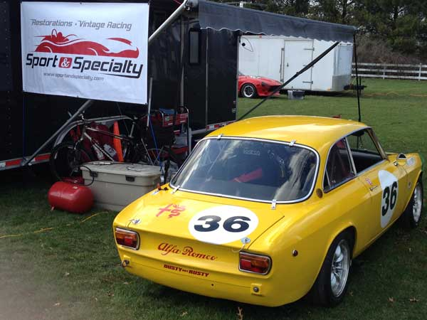 Sport and Specialty Restoration and Vintage Racing Shop